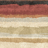 Surya Alfredo AFR-3321 Chocolate Machine Loomed Area Rug Sample Swatch