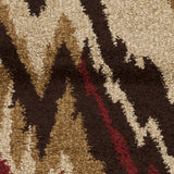 Surya Alfredo AFR-3323 Burgundy Machine Loomed Area Rug Sample Swatch