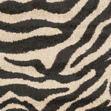 Surya Alfredo AFR-3325 Black Machine Loomed Area Rug Sample Swatch
