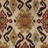 Surya Alfredo AFR-3326 Beige Machine Loomed Area Rug Sample Swatch