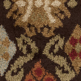 Surya Alfredo AFR-3329 Chocolate Machine Loomed Area Rug Sample Swatch