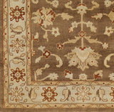 Surya Ainsley AIN-1009 Mocha Hand Knotted Area Rug Sample Swatch