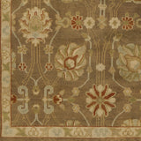 Surya Ainsley AIN-1016 Olive Hand Knotted Area Rug Sample Swatch