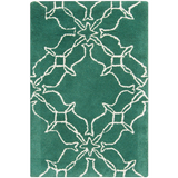 Surya AIW-4008 Emerald/Kelly Green Area Rug by Aimee Wilder 2' x 3'