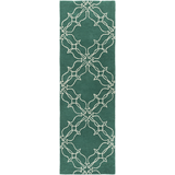 Surya AIW-4008 Emerald/Kelly Green Area Rug by Aimee Wilder 2'6'' X 8' Runner