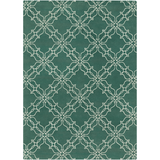 Surya AIW-4008 Emerald/Kelly Green Area Rug by Aimee Wilder 8' X 11'