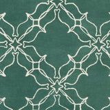 Surya AIW-4008 Emerald/Kelly Green Hand Tufted Area Rug by Aimee Wilder Sample Swatch