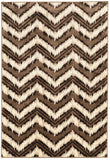 Linon Art Silk Collection RUGAK15 Beige/Cream Area Rug main image