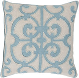 Surya Amelia Arabella AL-002 Pillow 18 X 18 X 4 Down filled