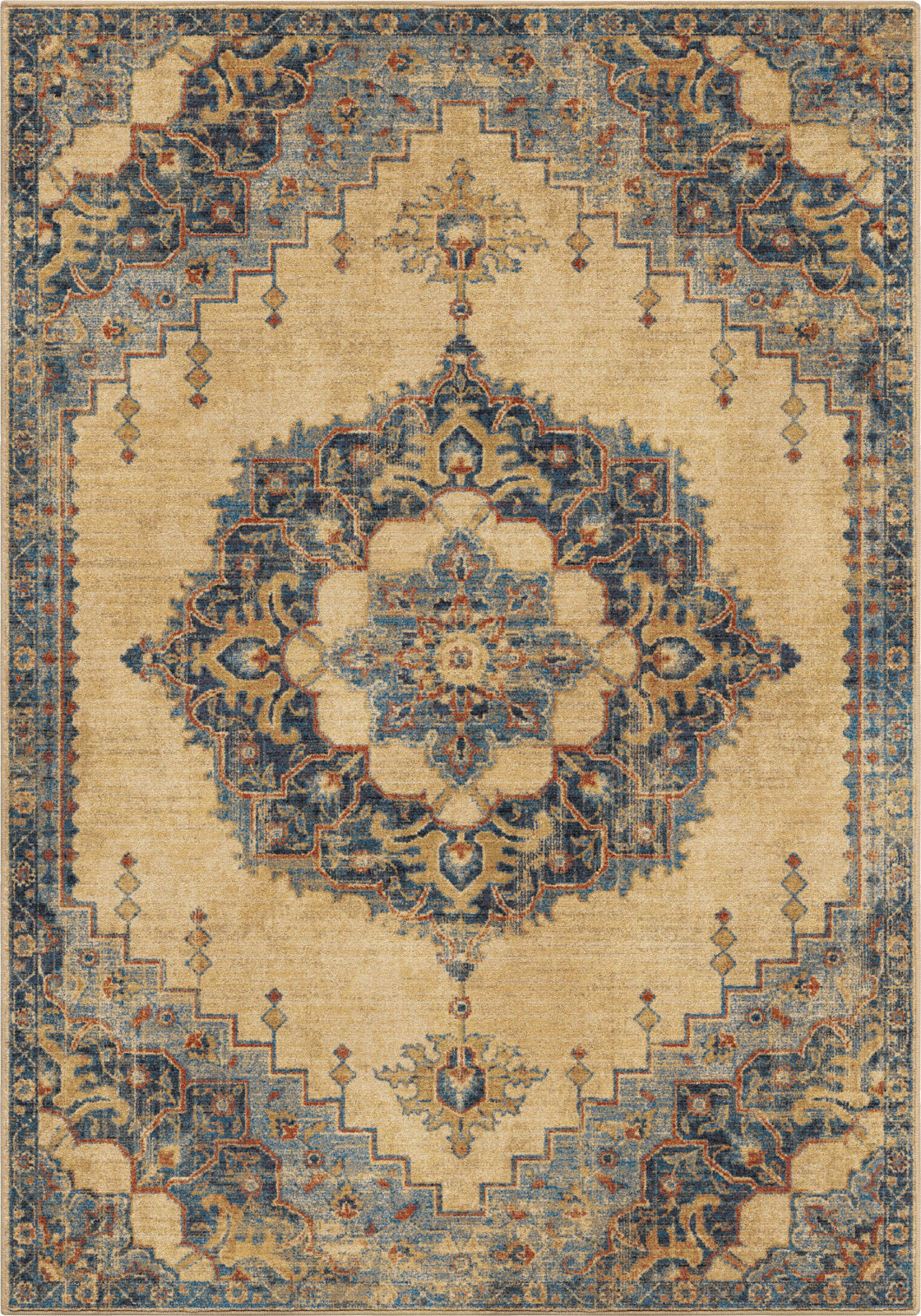 Orian Rugs Alexandria Hamton Court Pale Blue Area Rug by Palmetto Living main image