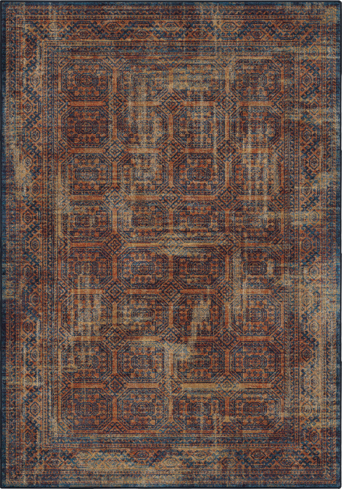 Orian Rugs Alexandria Northern Mashad Thatch Red Area Rug by Palmetto Living main image