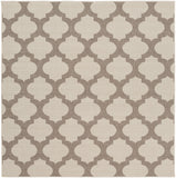 Surya Alfresco ALF-9586 Taupe Area Rug 7'3'' Square