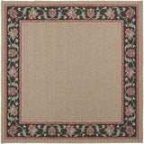 Surya Alfresco ALF-9597 Taupe Area Rug 7'3'' Square
