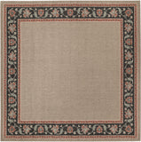 Surya Alfresco ALF-9597 Taupe Area Rug 8'9'' Square