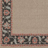 Surya Alfresco ALF-9597 Taupe Machine Loomed Area Rug Sample Swatch