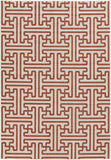 Surya Alfresco ALF-9600 Cherry Area Rug 5'3'' x 7'6''