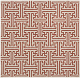Surya Alfresco ALF-9600 Cherry Area Rug 7'3'' Square