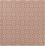 Surya Alfresco ALF-9600 Cherry Area Rug 8'9'' Square