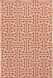 Surya Alfresco ALF-9602 Cherry Area Rug 5'3'' x 7'6''
