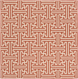 Surya Alfresco ALF-9602 Cherry Area Rug 7'3'' Square