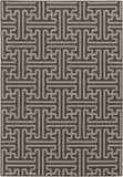 Surya Alfresco ALF-9604 Black Area Rug 5'3'' x 7'6''