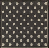 Surya Alfresco ALF-9608 Black Area Rug 8'9'' Square