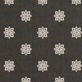 Surya Alfresco ALF-9608 Black Machine Loomed Area Rug Sample Swatch
