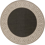 Surya Alfresco ALF-9626 Navy Area Rug 7'3'' Round