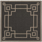 Surya Alfresco ALF-9630 Black Area Rug 7'3'' Square