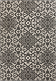 Surya Alfresco ALF-9637 Black Area Rug 5'3'' x 7'6''