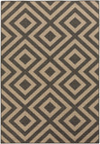Surya Alfresco ALF-9641 Black Area Rug 5'3'' x 7'6''