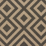 Surya Alfresco ALF-9641 Black Machine Loomed Area Rug Sample Swatch