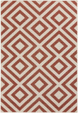 Surya Alfresco ALF-9642 Cherry Area Rug 5'3'' x 7'6''