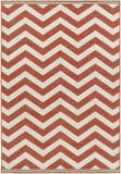Surya Alfresco ALF-9647 Cherry Area Rug 5'3'' x 7'6''