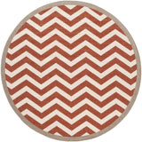 Surya Alfresco ALF-9647 Cherry Area Rug 7'3'' Round