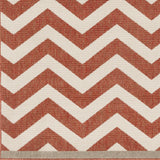 Surya Alfresco ALF-9647 Cherry Machine Loomed Area Rug Sample Swatch