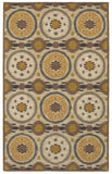 LR Resources Allure 03831 Beige Hand Woven Area Rug 5' x 7' 9''