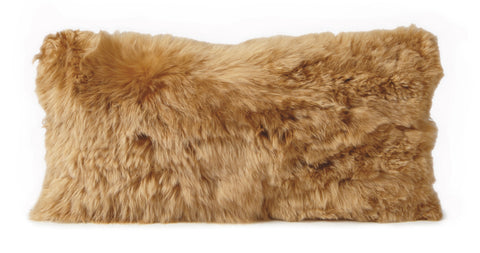 Auskin Luxury Skins Alpaca Cushions Gold