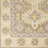 Surya Albuquerque ALQ-400 Grey Hand Tufted Area Rug Sample Swatch