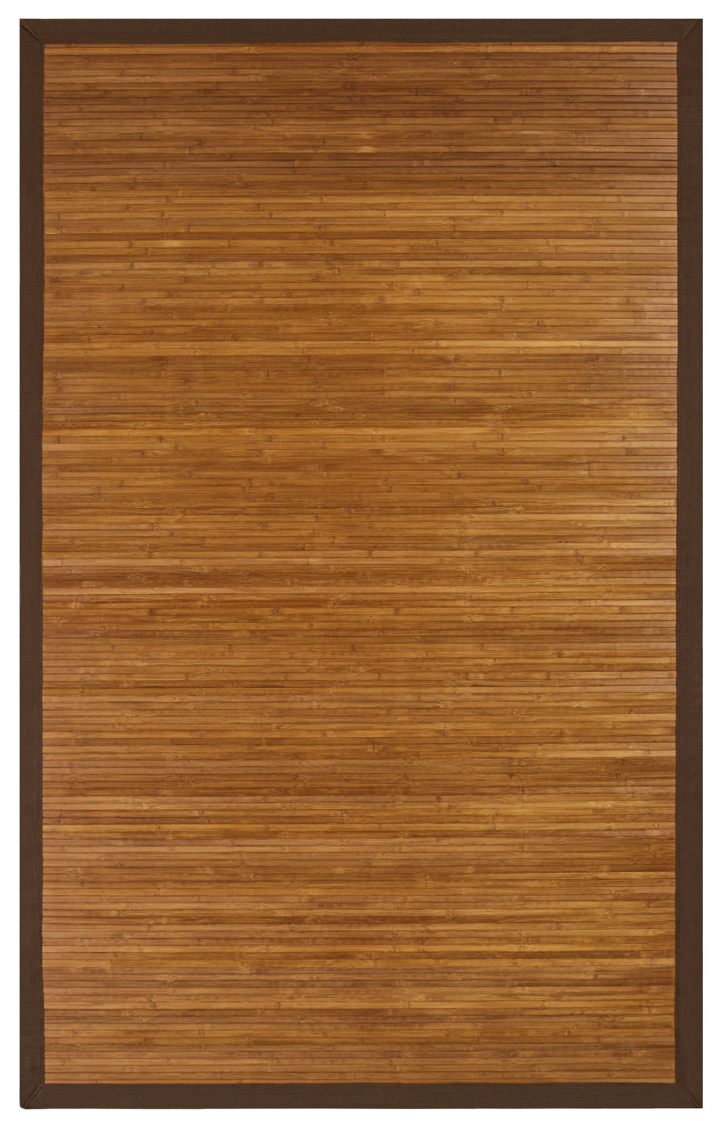 JazzyFloors Bamboo 0031 Contemporary Chocolate Area Rug main image