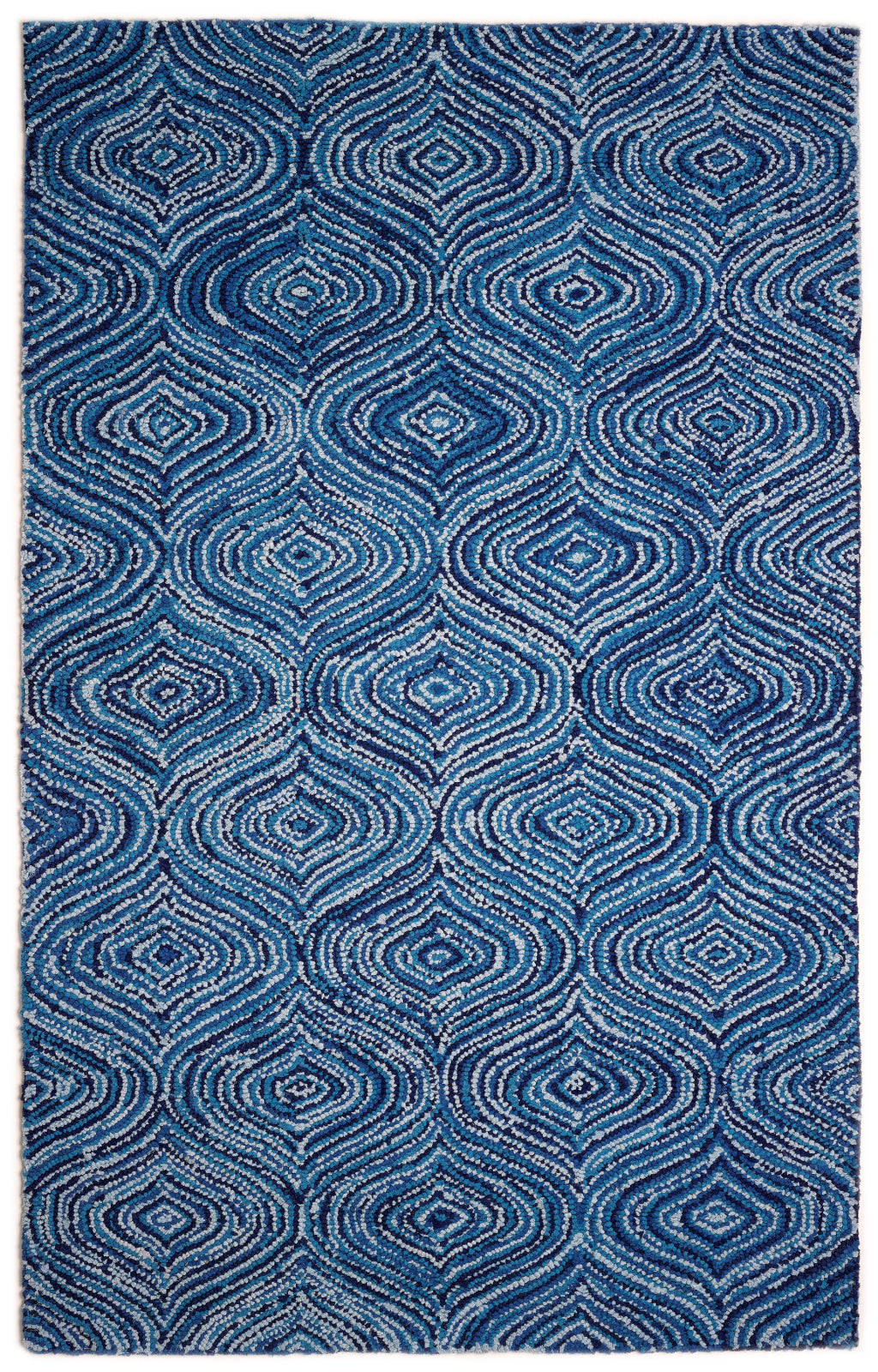 JazzyFloors Atlas 1007 Lantern Blue Skies Area Rug main image