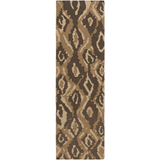 Surya Alameda AMD-1061 Taupe Area Rug by Beth Lacefield 2'6'' x 8' Runner