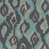 Surya Alameda AMD-1063 Teal Hand Woven Area Rug by Beth Lacefield Sample Swatch