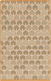 Surya Alameda AMD-1077 Burnt Orange Area Rug by Beth Lacefield 5' x 8'