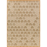 Surya Alameda AMD-1077 Burnt Orange Area Rug by Beth Lacefield