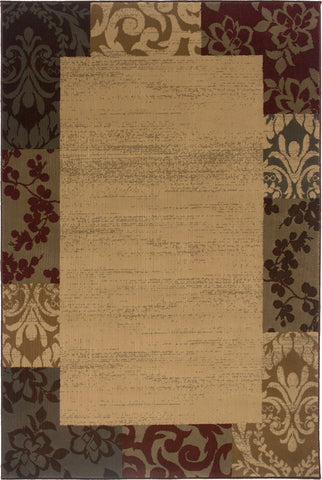 Oriental Weavers Amelia 2166J Beige/Red Area Rug main image