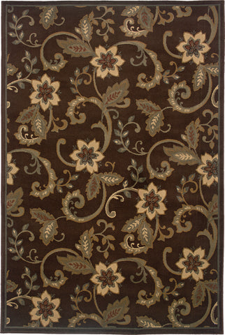 Oriental Weavers Amelia 2260B Brown/Ivory Area Rug main image