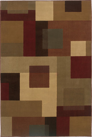 Oriental Weavers Amelia 2261Y Red/Tan Area Rug main image