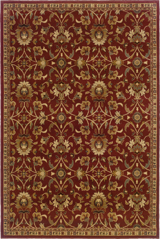 Oriental Weavers Amelia 2331R Red/Ivory Area Rug main image