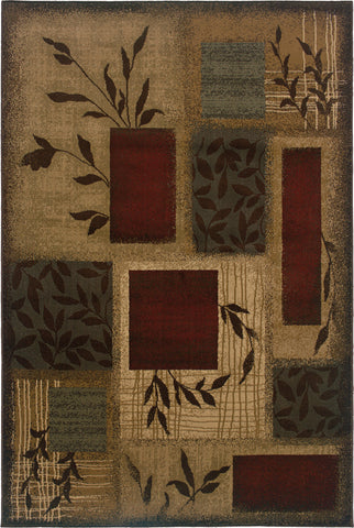 Oriental Weavers Amelia 260X6 Beige/Red Area Rug main image